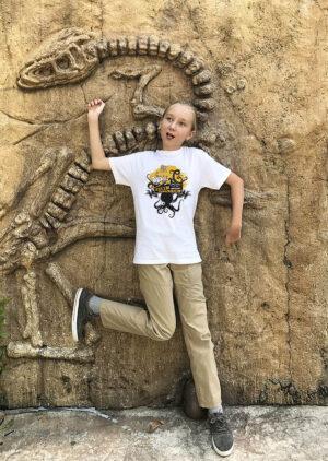 T-shirt filmowy z ośmiornicą