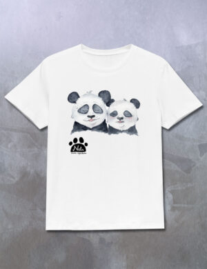 T-shirt z pandami