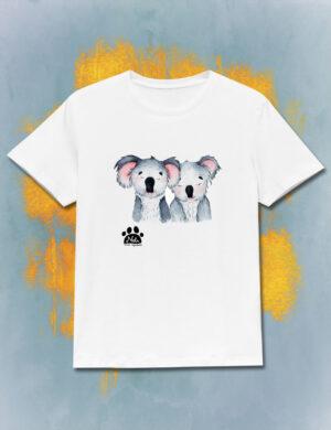T-shirt zakochane koale