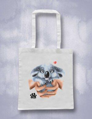 Torba ekologiczna bawełniana - Mały koala