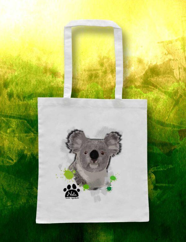 Torba ekologiczna bawełniana - Koala