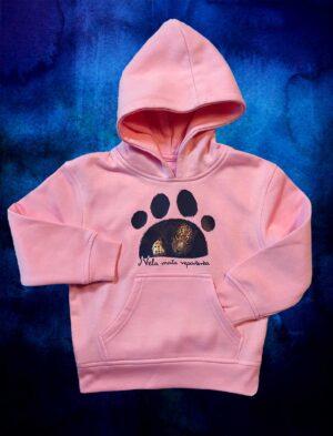 Bluza Jaguar - kolor różowy z logiem Nela Mała Reporterka
