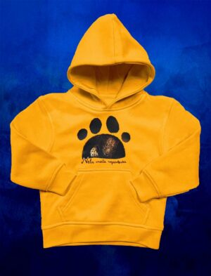 Bluza Jaguar - kolor żółty z logiem Nela Mała Reporterka